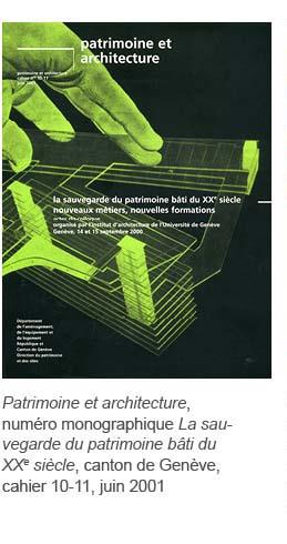 Patrimoine et architecure