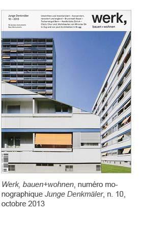 werk bauen+wohnen 2013