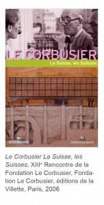 Le Corbusier Suisse rencontres Fondation