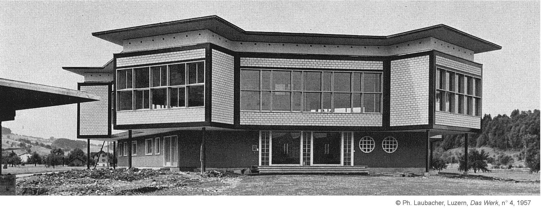 Wohlfahrtshaus von Schindler in Ebikon